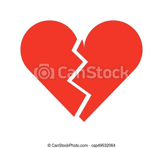 broken heart - csp49532064