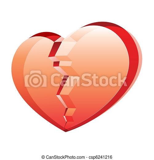 Broken heart - csp6241216