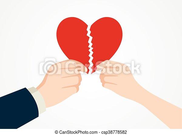 Broken Heart - csp38778582