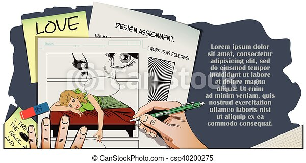 Broken heart. Girl lies on bed and crying. - csp40200275