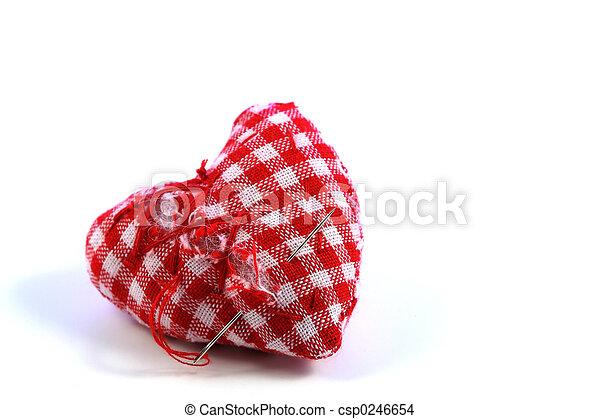 Broken heart - csp0246654