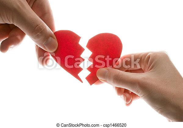 Broken heart - csp1466520