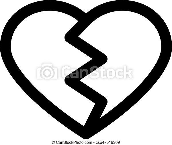broken heart - csp47519309