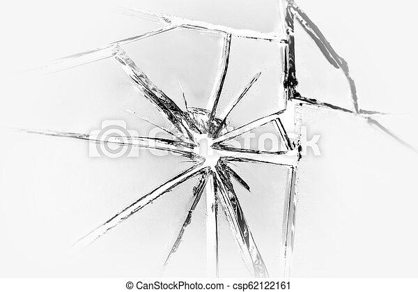 Broken mirror background - csp62122161