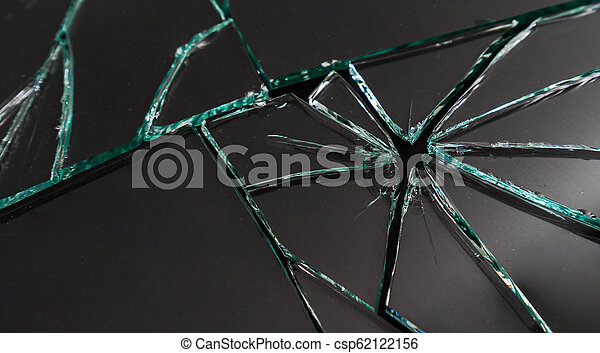 Broken mirror background - csp62122156