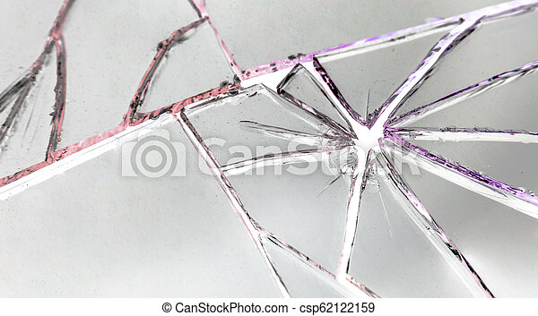 Broken mirror background - csp62122159