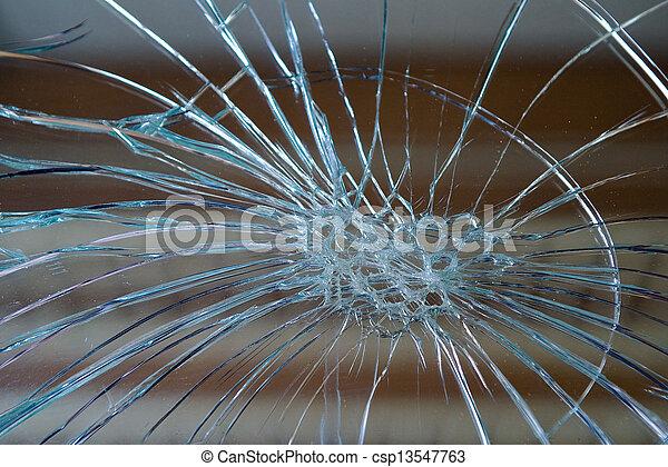 Broken mirror - csp13547763
