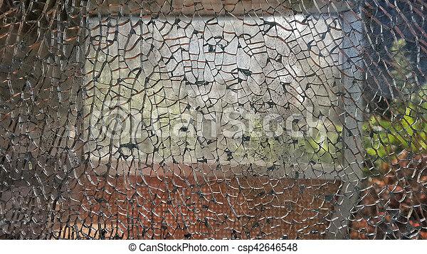 broken mirror - csp42646548