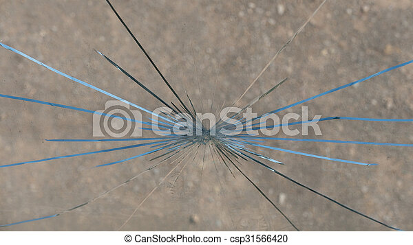 Broken Window - csp31566420