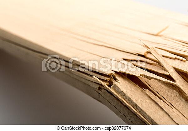 Broken wood - csp32077674