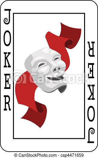 Tarjeta de Joker - csp4471659