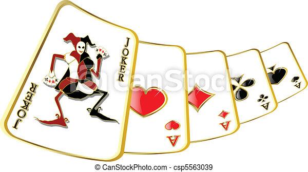 Vector Joker - csp5563039