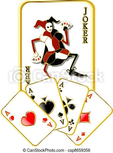 Vector Joker - csp8659356