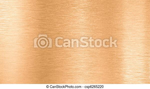 Bronze oder Kupfermetall - csp6265220