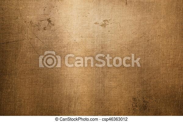 Bronze- oder Kupfermetall-Struktur - csp46363012
