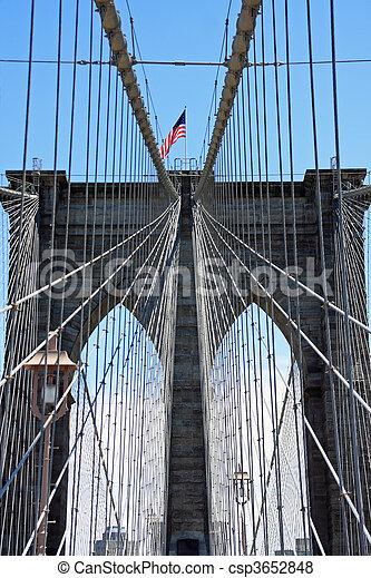 Brooklyn bridge - csp3652848