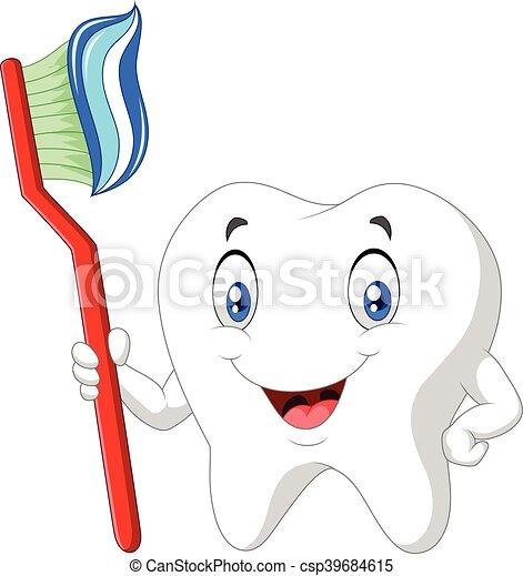 Brosse dents dentaire dessin anim dent dentaire - Dessin de dent ...