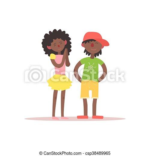 Black Woman Dominates White