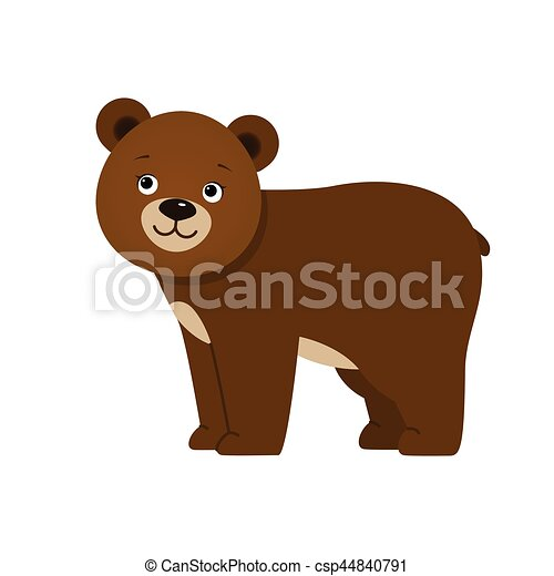 Brown bear - csp44840791