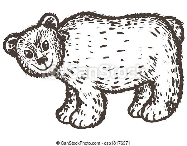 brown bear - csp18176371