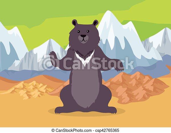 Asian mountain range ural