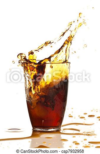 brown beverage - csp7932958