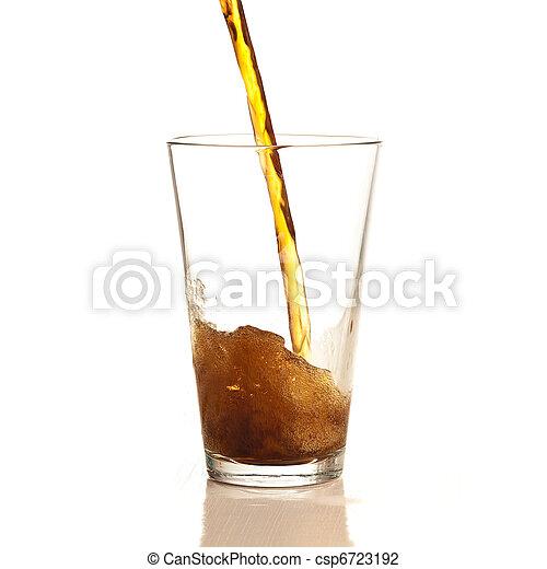 brown beverage - csp6723192