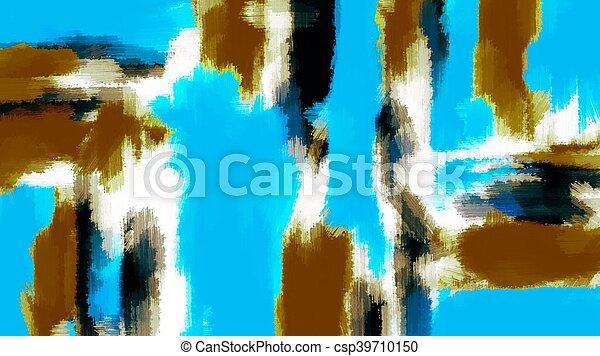 brown black blue painting texture - csp39710150