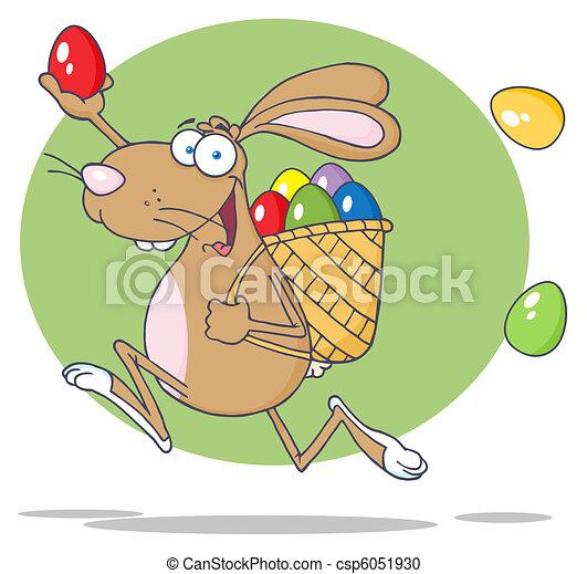 Brown Bunny Participating - csp6051930