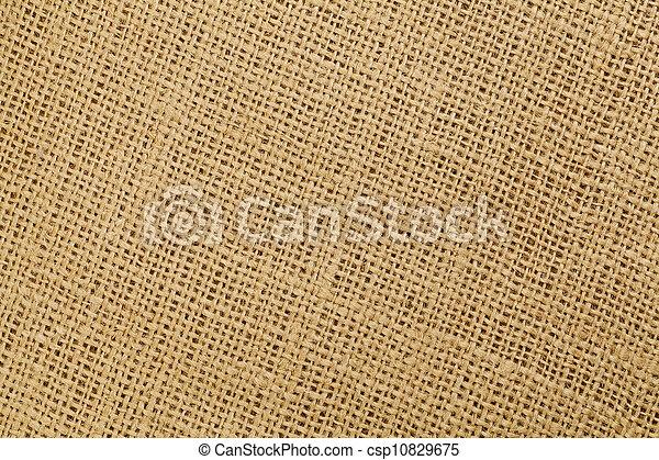 brown burlap texture - csp10829675