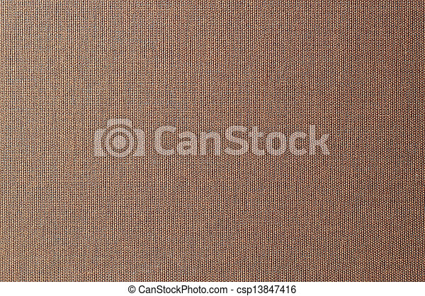 Brown canvas texture or background - csp13847416