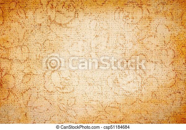 Brown canvas texture - csp51184684