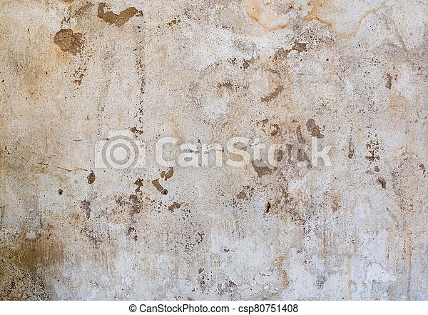 Brown concrete wall texture background - csp80751408