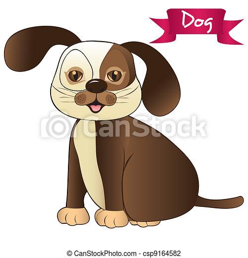 brown dog - csp9164582