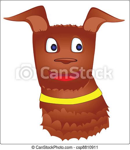 brown dog  - csp8810911