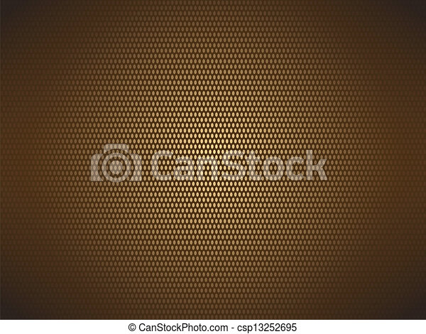 brown dotted background