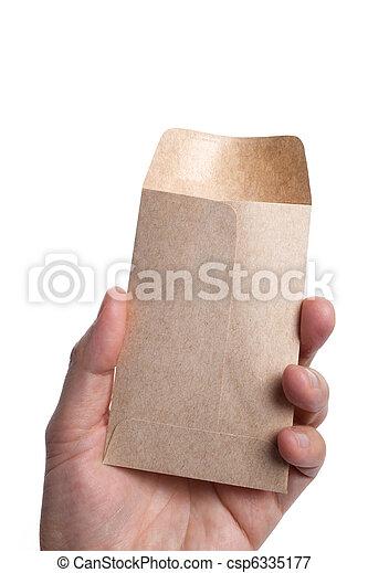 Brown Envelope - csp6335177