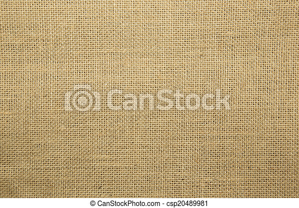 Brown fabric texture for background  - csp20489981
