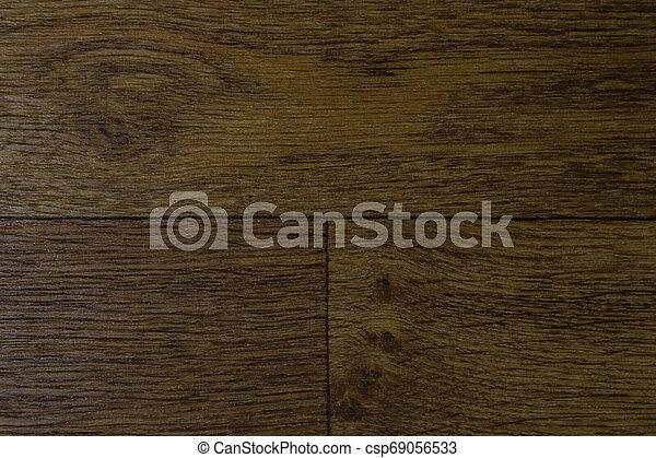 Brown floorboard, background for designers, wood texture. - csp69056533