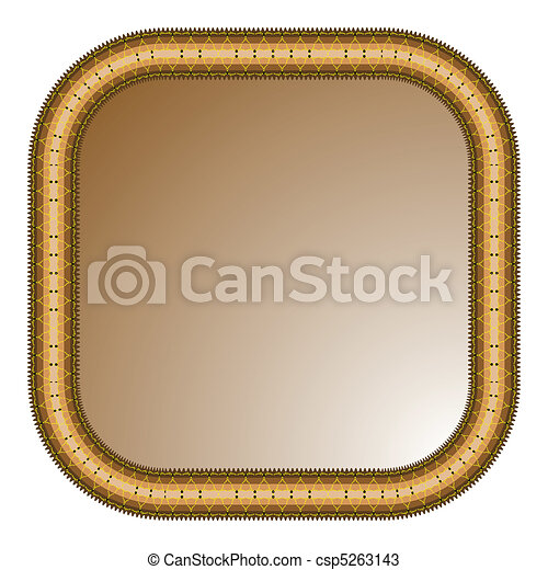 brown frame - csp5263143