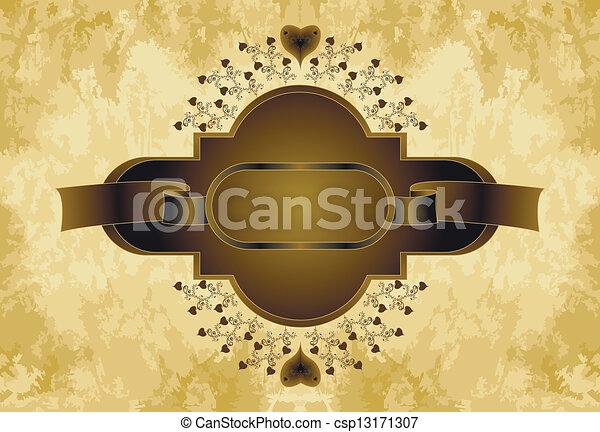 brown frame - csp13171307