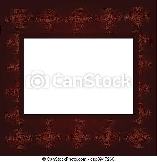 Brown frame - csp8947260