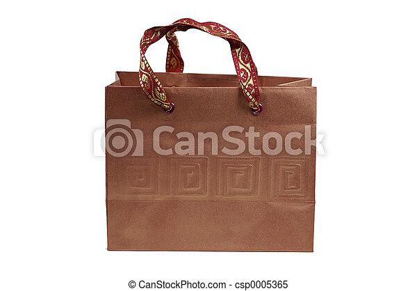 Brown Giftbag - csp0005365