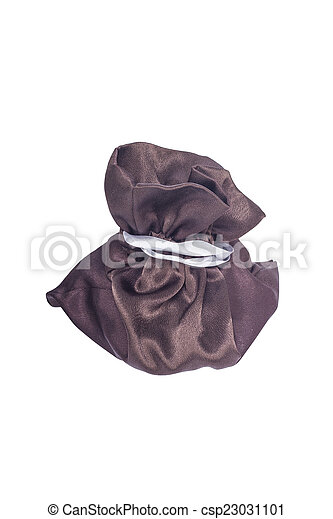 Brown gifts bag with ties - csp23031101