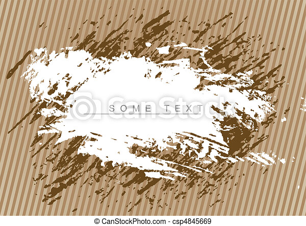 Brown grunge background - csp4845669