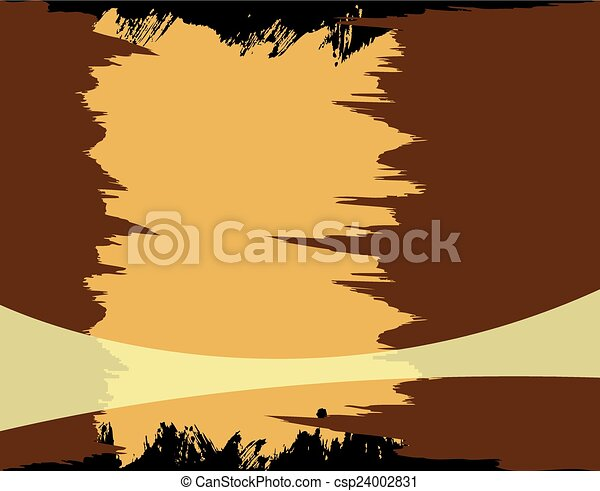 Brown grunge background - csp24002831