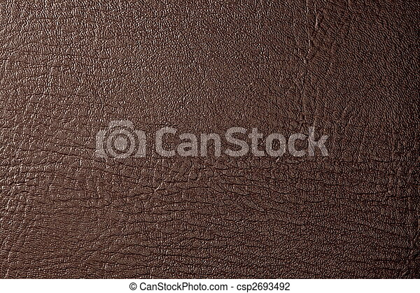 brown leather - csp2693492