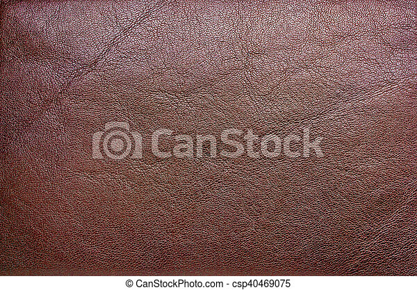 Brown leather texture - csp40469075