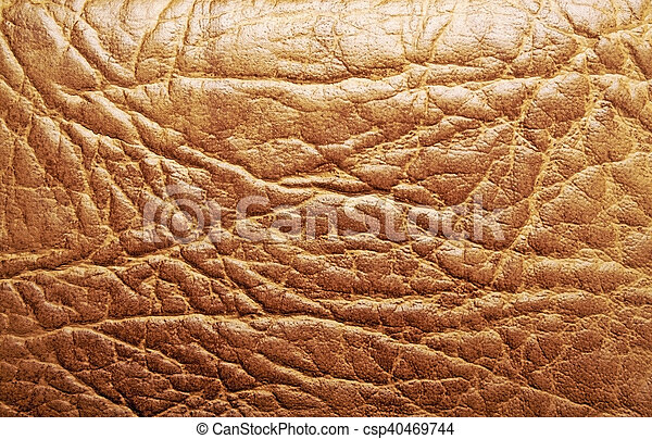 Brown leather texture - csp40469744