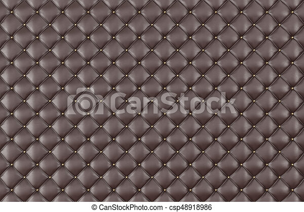 Brown Leather Upholstery Sofa Background Brown Luxury Decoration